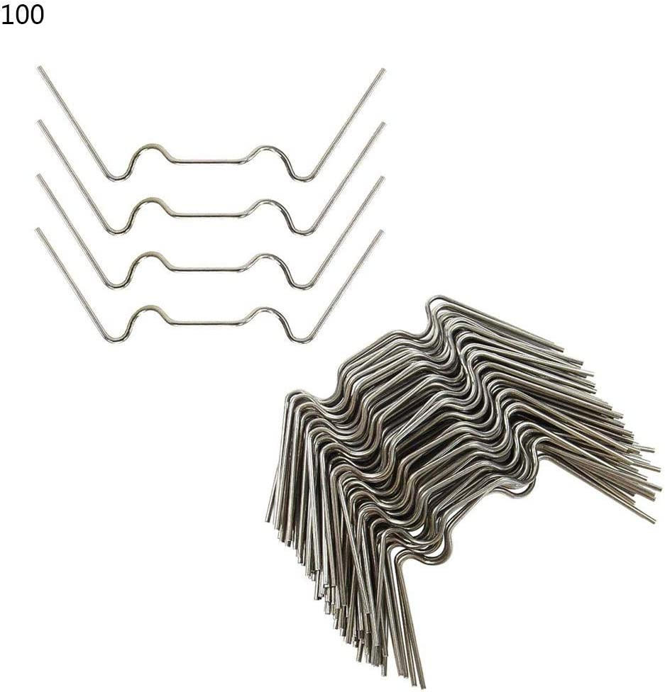 100pcs// 200pcs astonishing Stainless Steel W type Greenhouse Glass Clamps Miju Greenhous Glazing Clips Universal Applicable and Anti-Severe Weather
