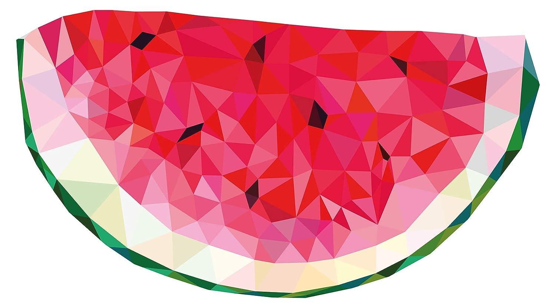 Wandtattoo Küche Melone im kunstvollen Design Wandsticker Obst Dekoration