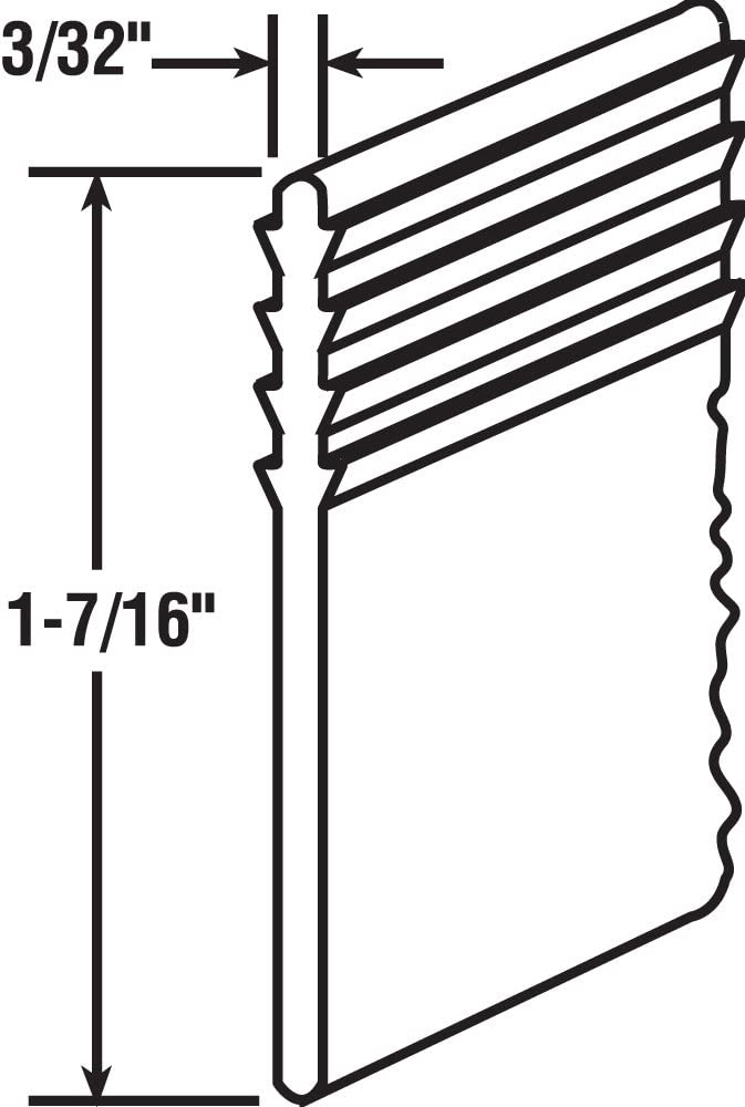 Prime-Line Products M 6092 Vinyl Shower Door 37-Inch
