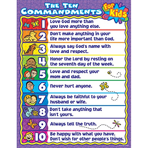 image relating to 10 Commandments for Kids Printable named Examine And Memorize The 10 Commandments Totally free Printable Pack