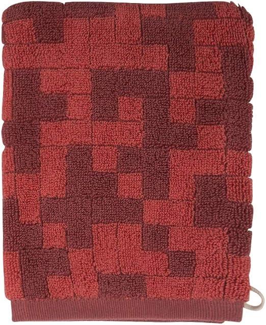 Hugo Boss Home manopla de baño Stencil, algodón, Castaño, 15 x 21 ...