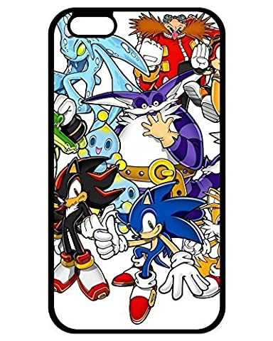Cheap 5115089ZA666963787I6P Top Quality Case Cover Sonic The Hedgehog iPhone 6 Plus phone Case (Sonic Iphone 4s Case)
