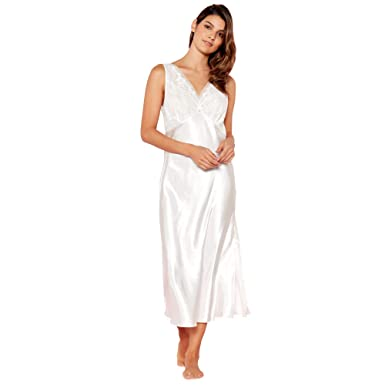 b06d9c4e20 Debenhams The Collection Womens White Floral Lace Nightdress  The ...