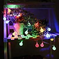 Luces Solares LED Luz de la Burbuja, Decoración