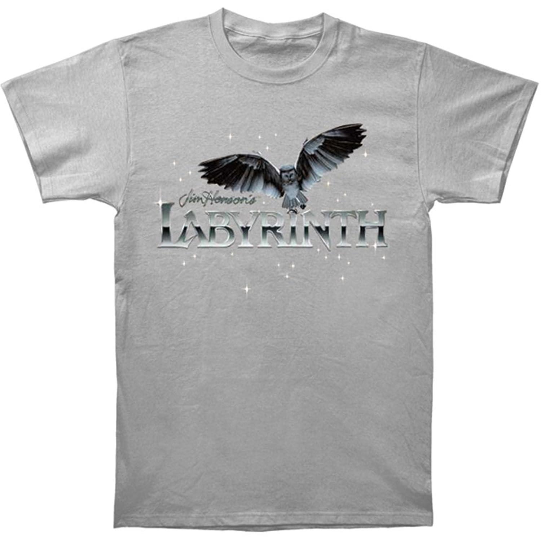 Labyrinth Jim Henson Movie Owl Logo Adult T-Shirt Tee
