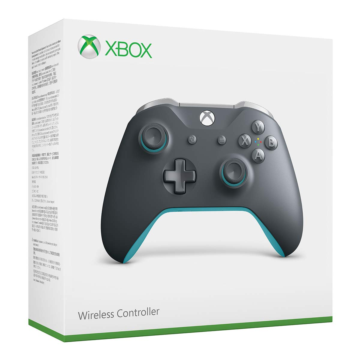 Xbox Wireless Controller - Grey and Blue by Microsoft (Image #3)
