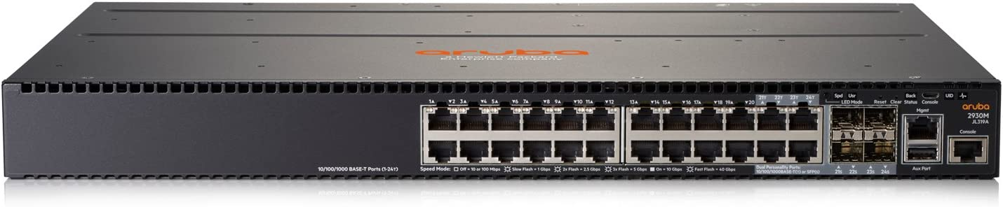 HPE Aruba 2930M 24G 1-Slot Switch