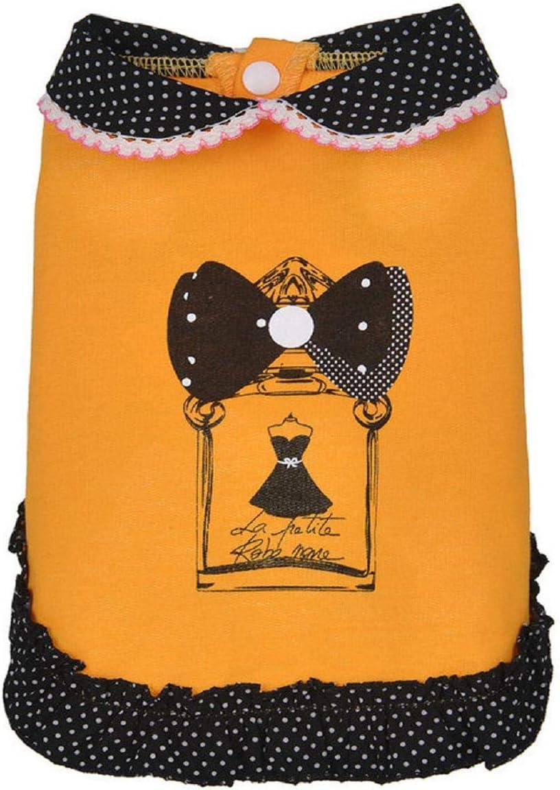 Spring Summer Pet Doll Collar Skirt Dress Dog Costumes Pet Costumes Apparel Barlingrock Dog Sweater for Small Dog Pet Clothes Dogs Clothes Dog Vest Dog Shirt