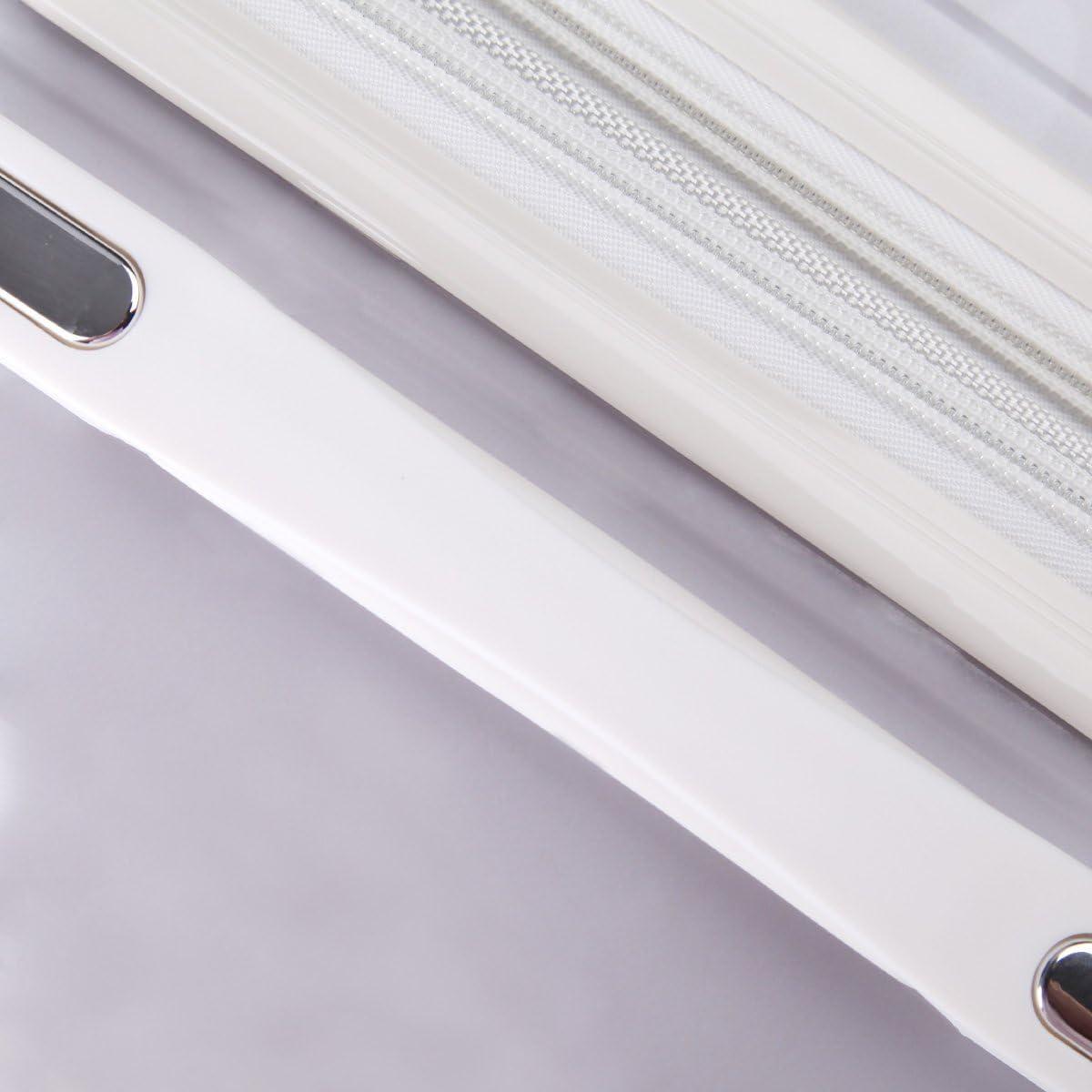 24 inch WAOWAO multicolor hardside luggage