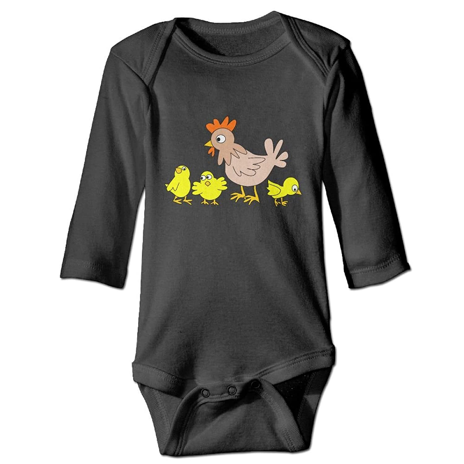 2132f01d81c2 GooReady Poultrys Chickens Long Sleeve Romper Play Suit For 6-24 ...