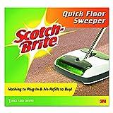Scotch-Brite M007CCW Quick Floor Sweeper, Rubber