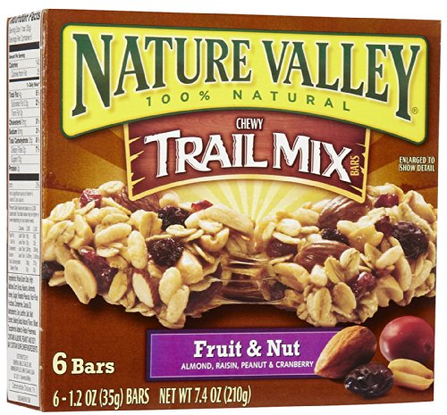 Nature Valley Trail Mix Chewy Granola Bars, Variety Pack ...
