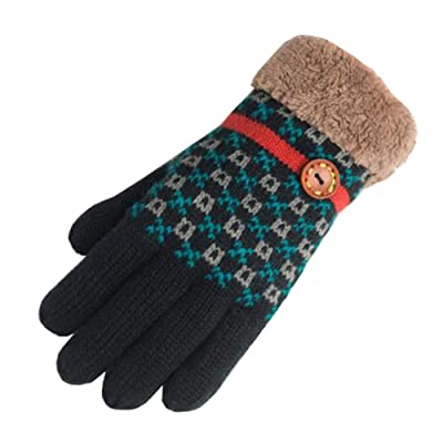 Outdoor Winter Soft Gloves Warm Gloves Thanksgiving Xmas Christmas Gift ,#S
