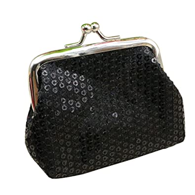 Amazon.com: Lentejuelas de mujer brillantes Monederos Mini ...