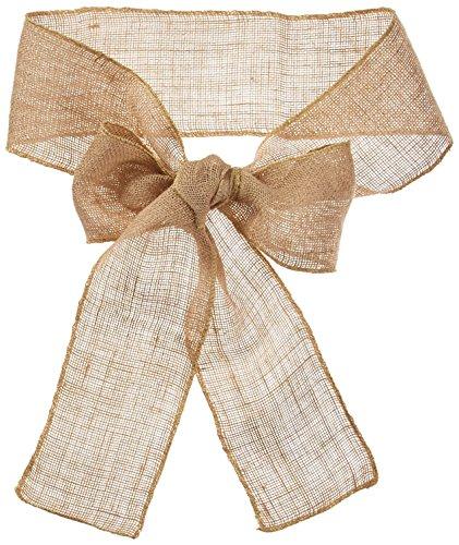LinenTablecloth Burlap Chair Sash