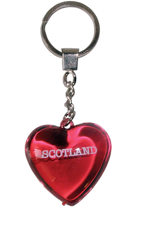 Keyring Scotland Red Heart Acrylic Keyring Heart Red B00AHERT76, ニューヨークスタイル アイゾーン:d3313ed1 --- awardsame.club