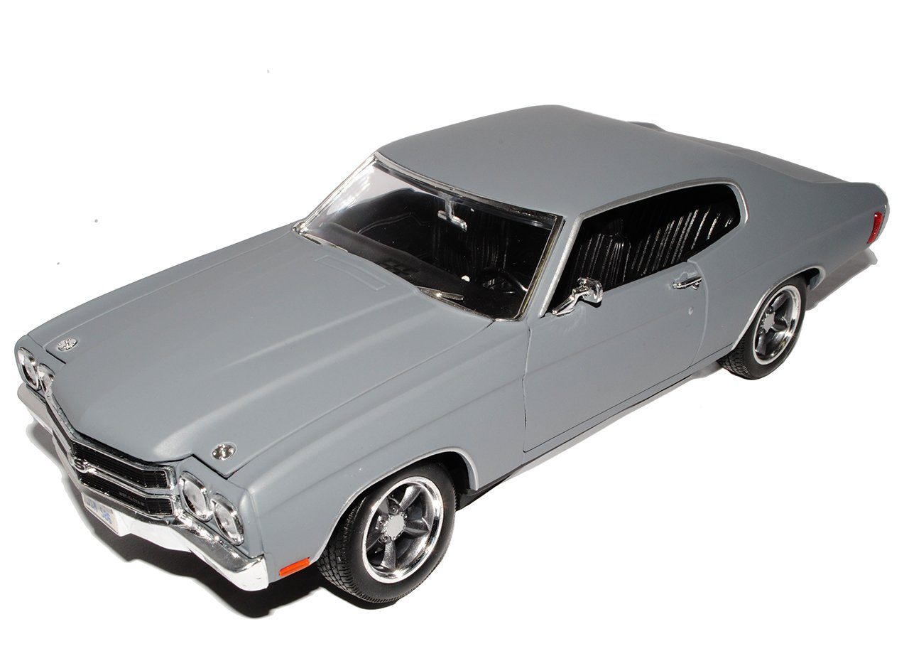 Grünlight Chevrolet Chevelle SS Dom´s 1970 Grau Fast and The Furious 1/18 Modell Auto