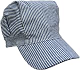 train conductor hat and whistle - Child's Blue Engineer Train Conductor Hat