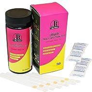 Urinary Tract Infection Test Strips (UTI Test Strips),Leukocytes Test,Nitrite Test,PH Test - 50 Urine Test Strips by Tbuymax