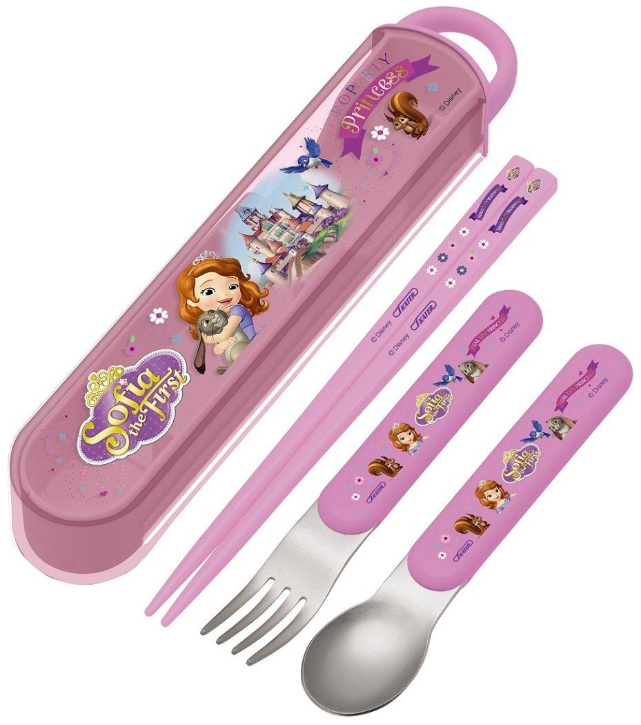 Amazon.com: Palillos cuchara Tenedor Trio Set Princesa Sofia ...