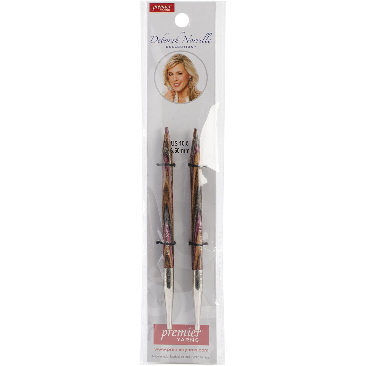 Premier Yarns Deborah Norville Interchangeable Needles, 10.5/6.5mm