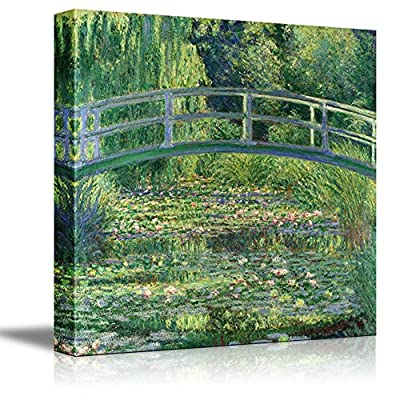 The Water Lily Pond by Claude Monet 12