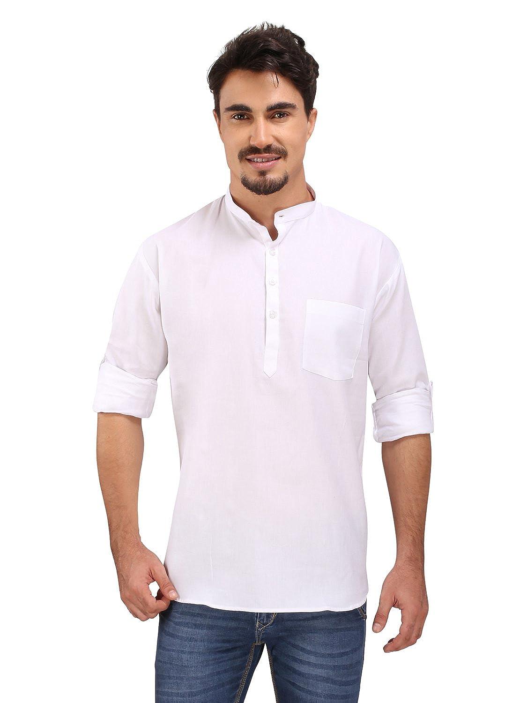 Cotton Short Kurta | Holi Special | Pathani Style