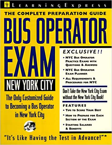 New york city bus operator exam learning express civil service new york city bus operator exam learning express civil service library new york 1st edition fandeluxe Gallery