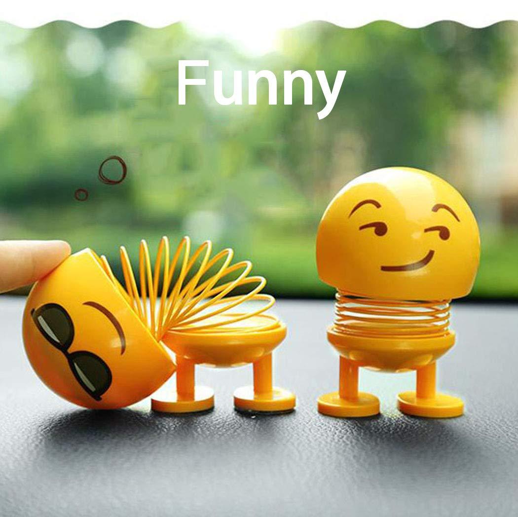 "Emoji Bobblehead Dolls"""