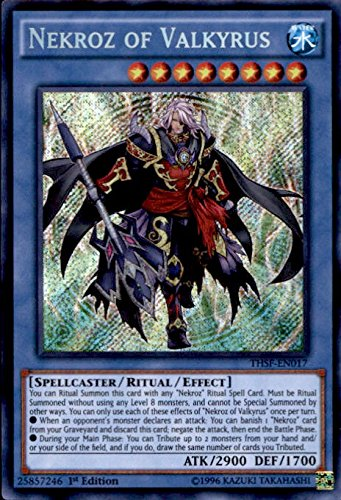 Yu-Gi-Oh. – nekroz of valkyrus (thsf-en017) – The Secret Kräfte – 1st Edition – Secret selten by Yu-Gi-Oh.