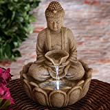 Best Bits and Pieces Bits and Pieces Indoor Fountains - Bits and Pieces Indoor Buddha Fountain - Zen Review