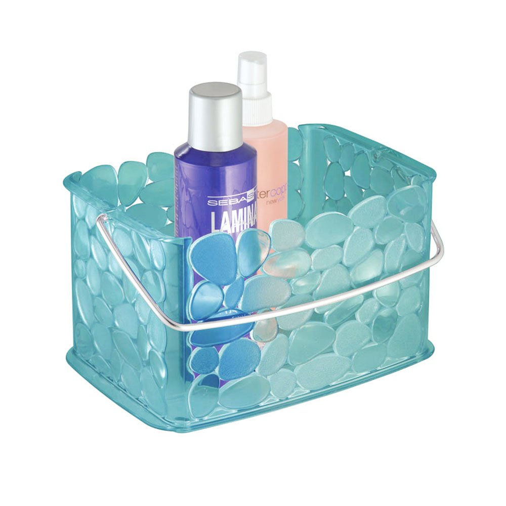 Amazon.com: InterDesign Pebblz Bath, Bathroom Vanity Organizer ...