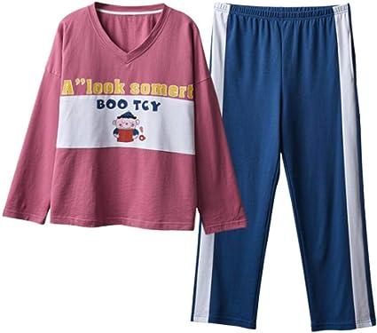 Pijamas para Mujer, Señoras Pijama Algodón Novedad Linda Chica ...