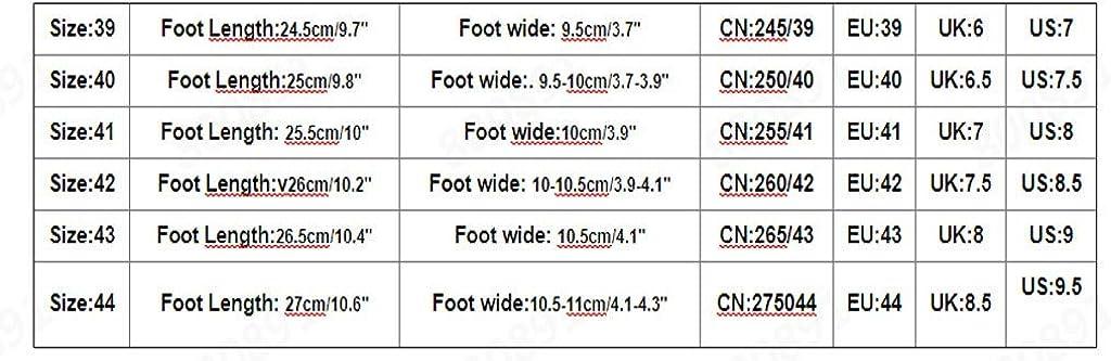 beautyjourney Zapatillas de Malla de Hombre Zapatillas de Carretera Verano Transpirable Zapatos de Deporte al Aire Libre Zapatillas de Correr Zapatos con Cordones Antideslizantes