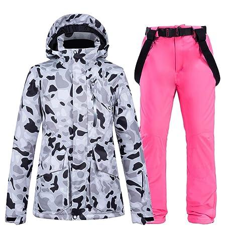 Conjunto De Pantalones De Chaquetas De Snowboard De Esquí para ...