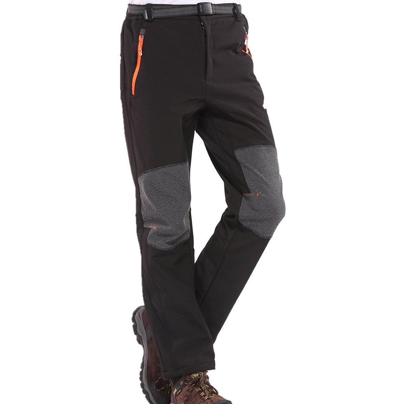 7de9b3c00 Sidiou Group Mujer Pantalones impermeables Hombre Pantalones de alpinismo  forrados a prueba de viento Pantalones de senderismo a prueba de viento ...