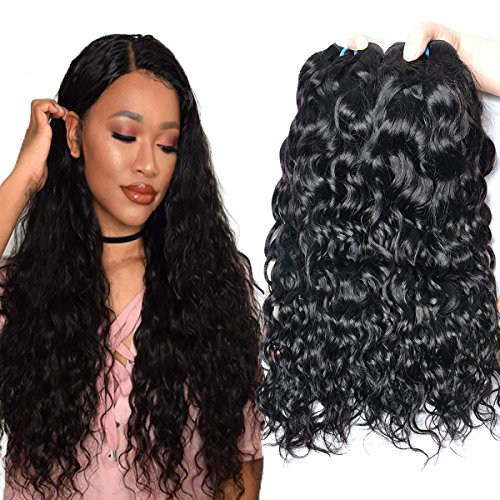 wet and wavy human hair weave - 6