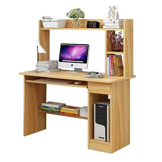 YQ WHJB Compacto Mesas para Ordenador con Gavetas,Escritura ...