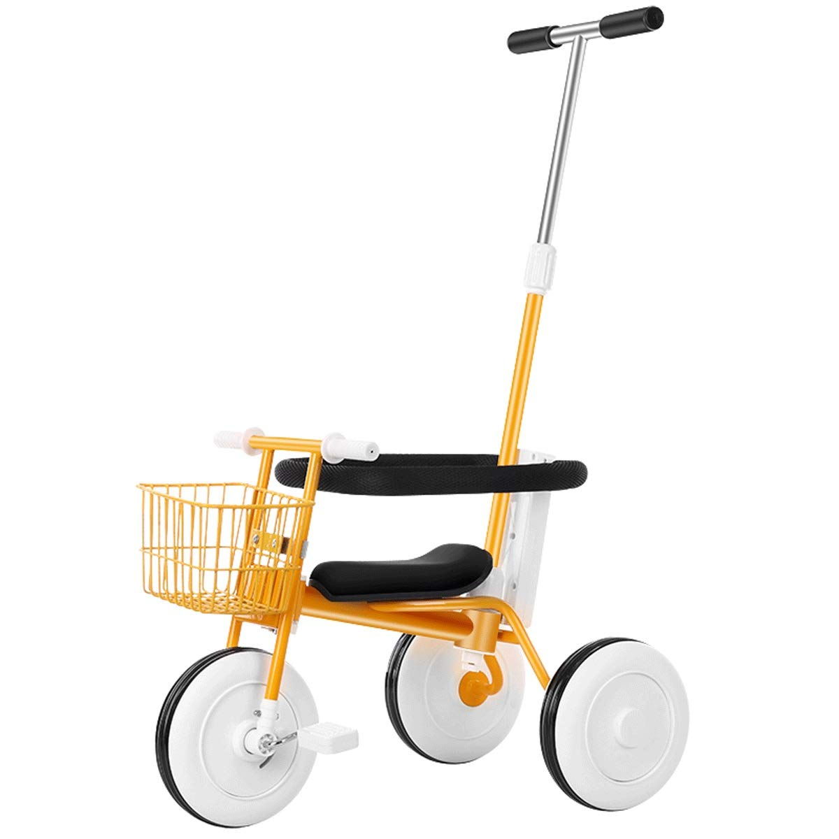Simple Non-Printing Children's Tricycle Bicycle Light Trolley Baby Bicycle Baby Carriage