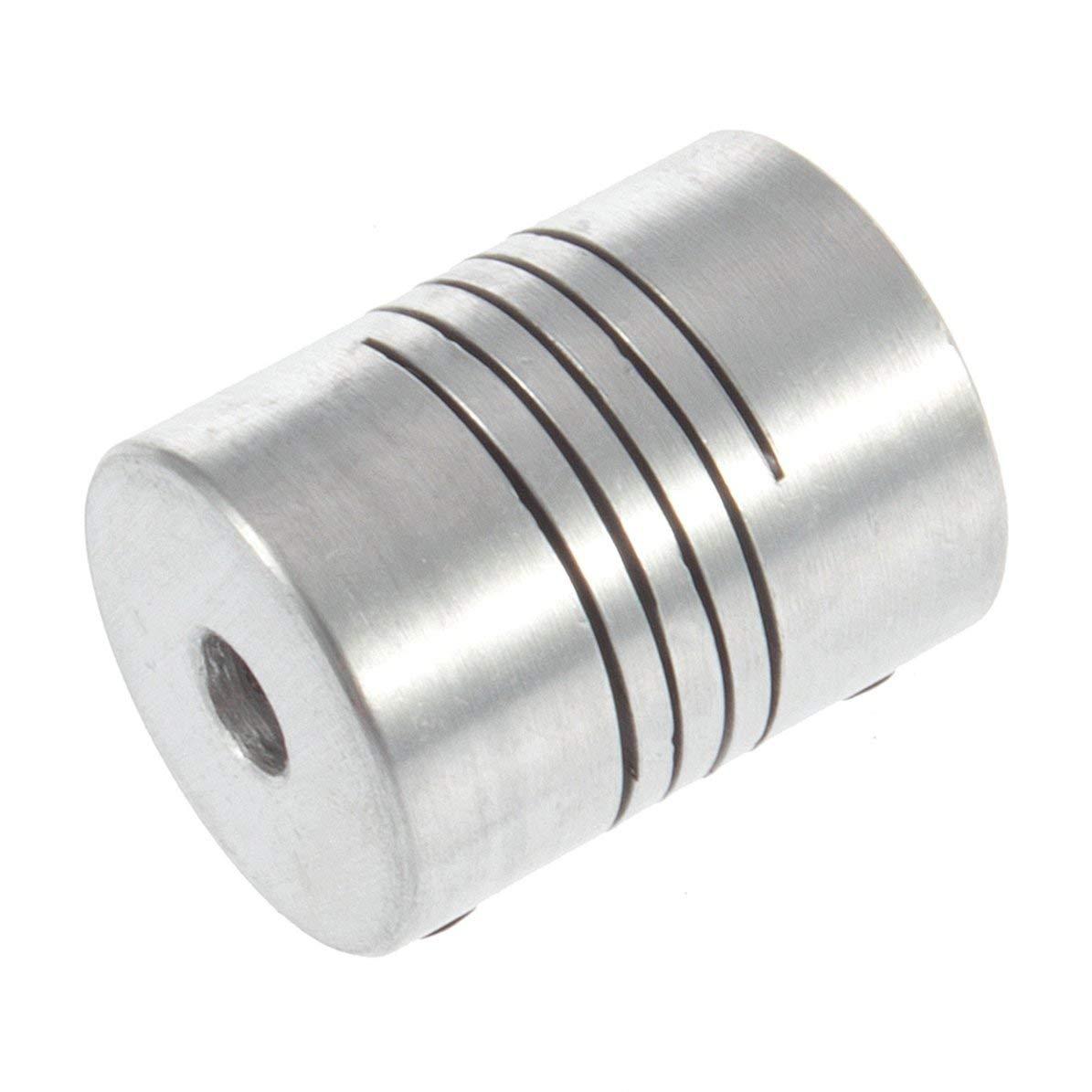 Accoppiatori/giunti per albero flessibile Hot 3D Printer Stepper Motor 5mm * 8mm * 25mm Accoppiatore per albero flessibile Motorcoupling DoMoment