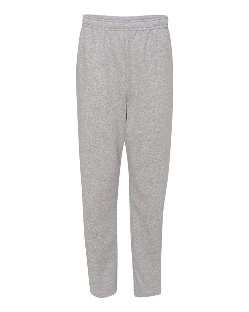 Jerzees Adult NuBlend Open-Bottom Sweatpants with Pockets at Amazon Men's  Clothing store: