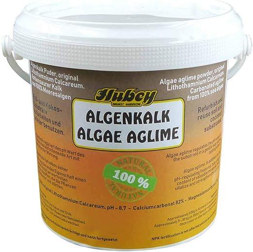 Algas, kohlensaurer cal con magnesio, 1 kg: Amazon.es: Jardín