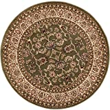 Well Woven Barclay Sarouk Green Traditional Area Rug 5'3″ Round Review