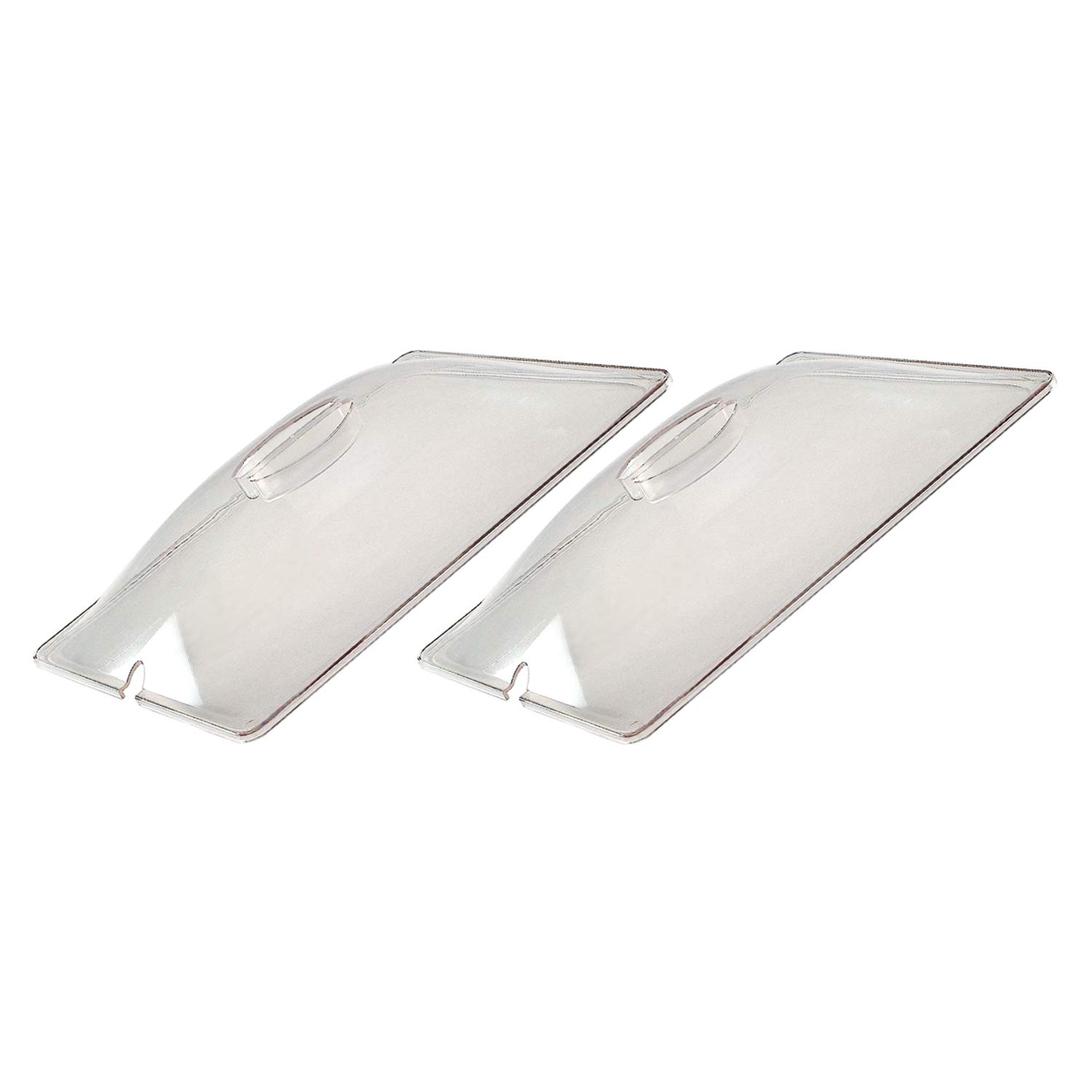 Cadco CL-2 Half-Size Clear Polycarbonate Lids Accessory Pack