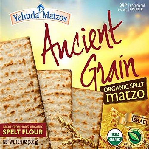 (Yehuda Organic Ancient Grain 100% Spelt Matzo 10.5oz (3 Pack) )