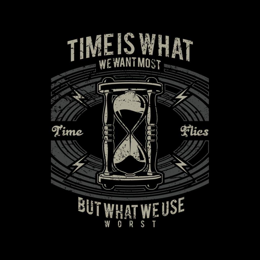 Time Flies Hourglass Womens Vest