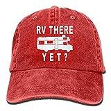 le creuset coffee grinder - SKXJ0IOAI RV There Yet Unisex Flat Bill Hip Hop Cap Baseball Hat Head-Wear Cotton Snapback Hats Red