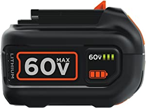 BLACK+DECKER 60V MAX Battery, Lithium Ion, 1.5-Ah (LBX1560)