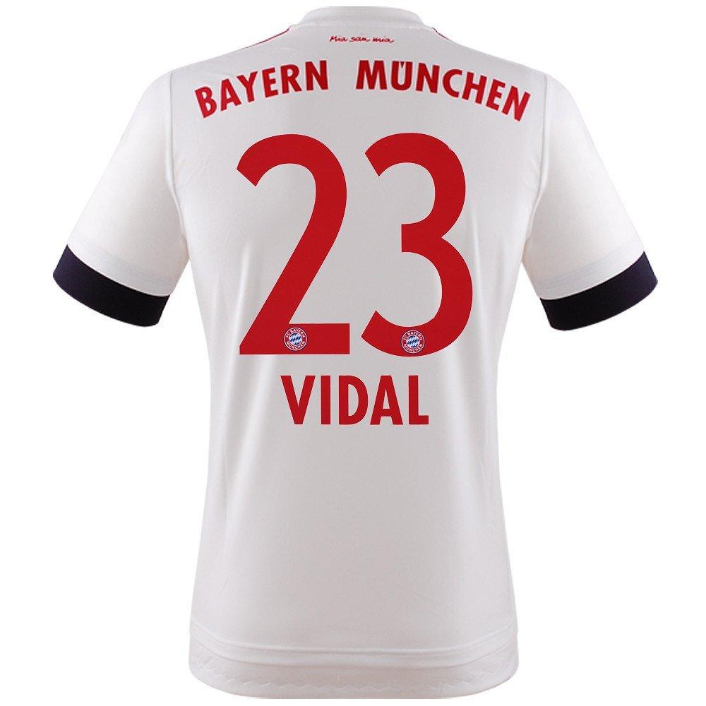 FC BAYERN MÜNCHEN AWAY TRIKOT 2015 16 - VIDAL