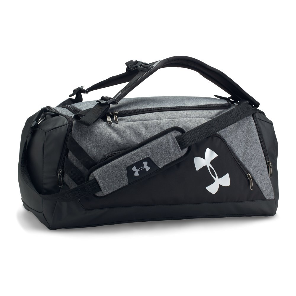 cb6aba9c Under Armour Storm Undeniable Backpack Duffle - Medium,Graphite /Silver,  One Size